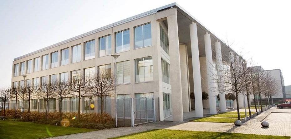 Facade of Ipsen Building in UK